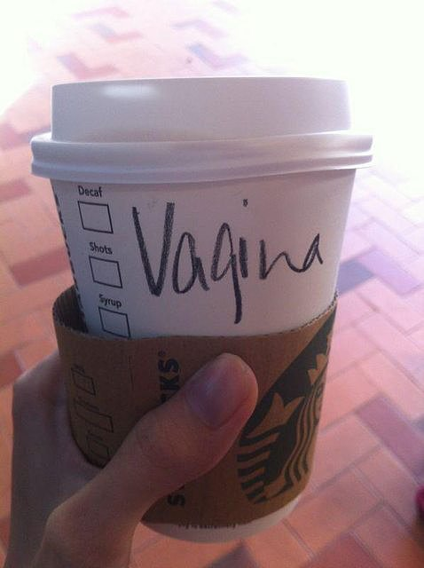 "Starbucks Makes ""Vagina"" Snafu"