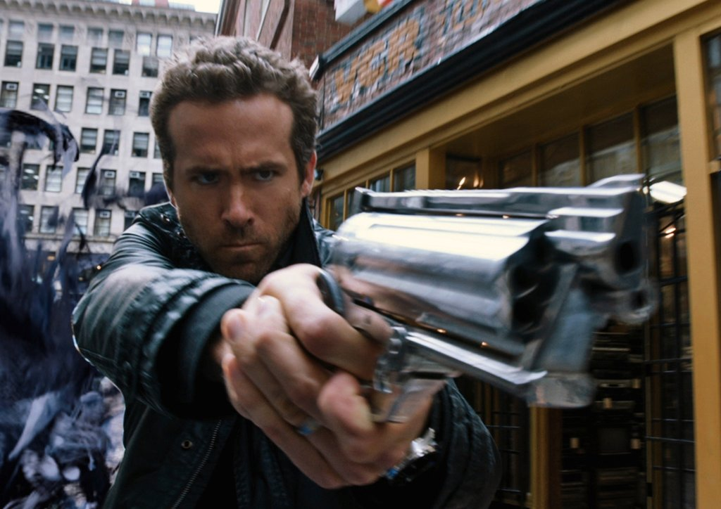 Ryan Reynolds as Nick Walker While we love the charming, rom-com side of Ryan Reynolds, we can't wait to see his sexy action-star side in R.I.P.D. As a dead cop (no, really) who hunts down dead bad guys, he rocks a rough-and-rugged look that definitely agrees with him.