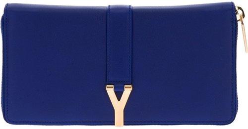 Yves Saint Laurent zip fastening wallet