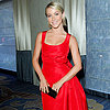 Julianne Hough In Red Dress At Women's Cancer Charity Event