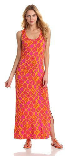 Hatley Women&#039;s Ikat Print Maxi Dress