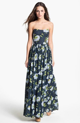 French Connection &#039;Spring Bloom&#039; Cotton Maxi Dress