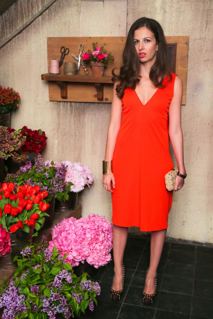 Chiara Clemente at Ferragamo's launch of L'Icona in New York. Source: David X Prutting/BFAnyc.com