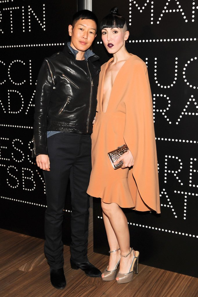 Jenny Shimizu and Michelle Harper at the Catherine Martin and Miuccia Prada Dress Gatsby opening cocktail party in New York. Source: Billy Farrell/BFAnyc.com