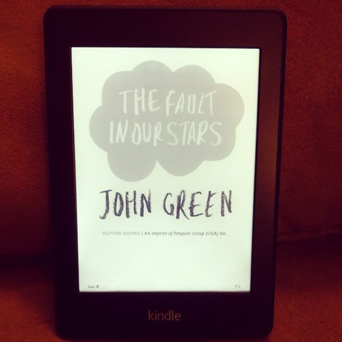 Thecrandalllife was reading The Fault in Our Stars by John Green.