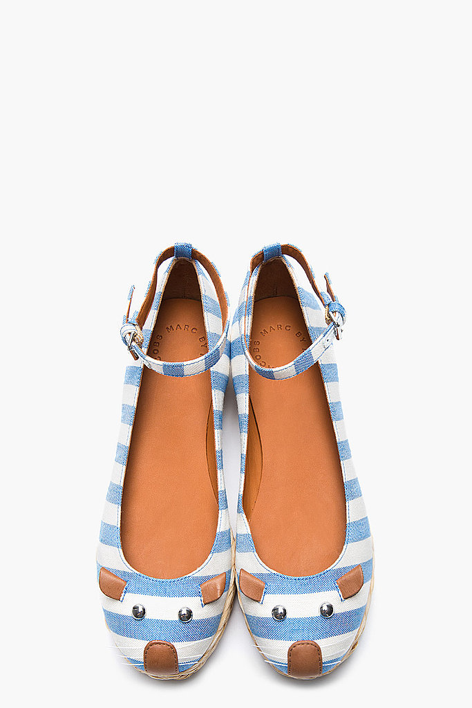 These Marc by Marc Jacobs stripe mouse espadrilles ($230) are simply irresistible.