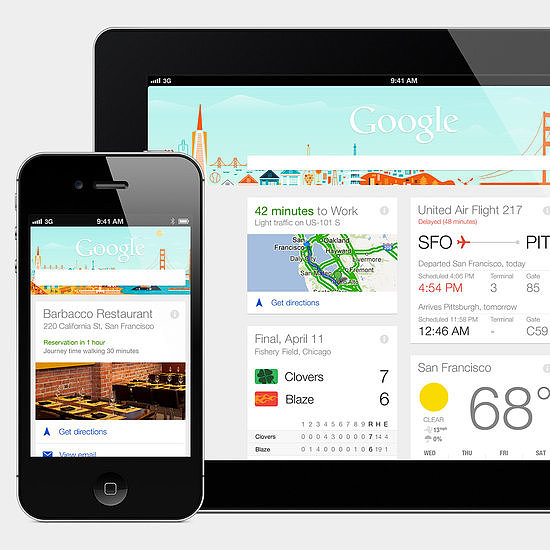 Google Now Arrives on iOS