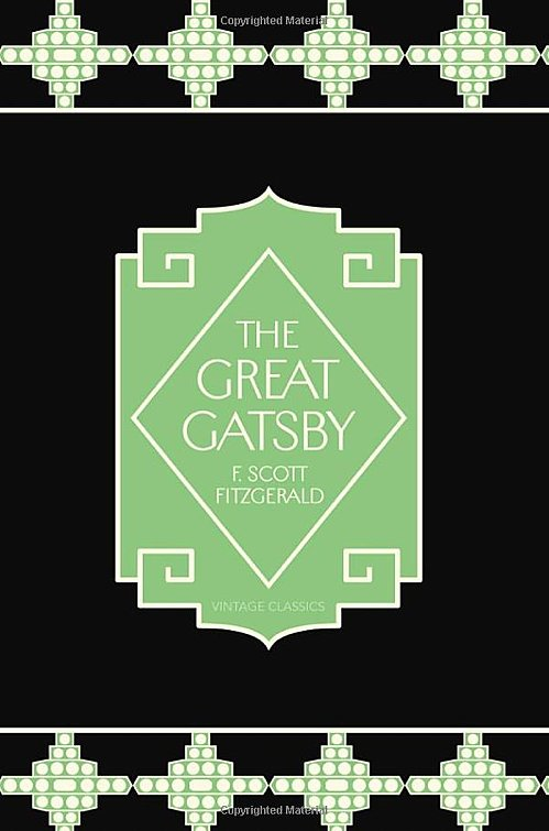 How unique is this black and green Gatsby cover? It came out of a unique collaboration between Tiffany & Co. and Vintage Classics, based on the jewelry company's pieces from the 1920s.