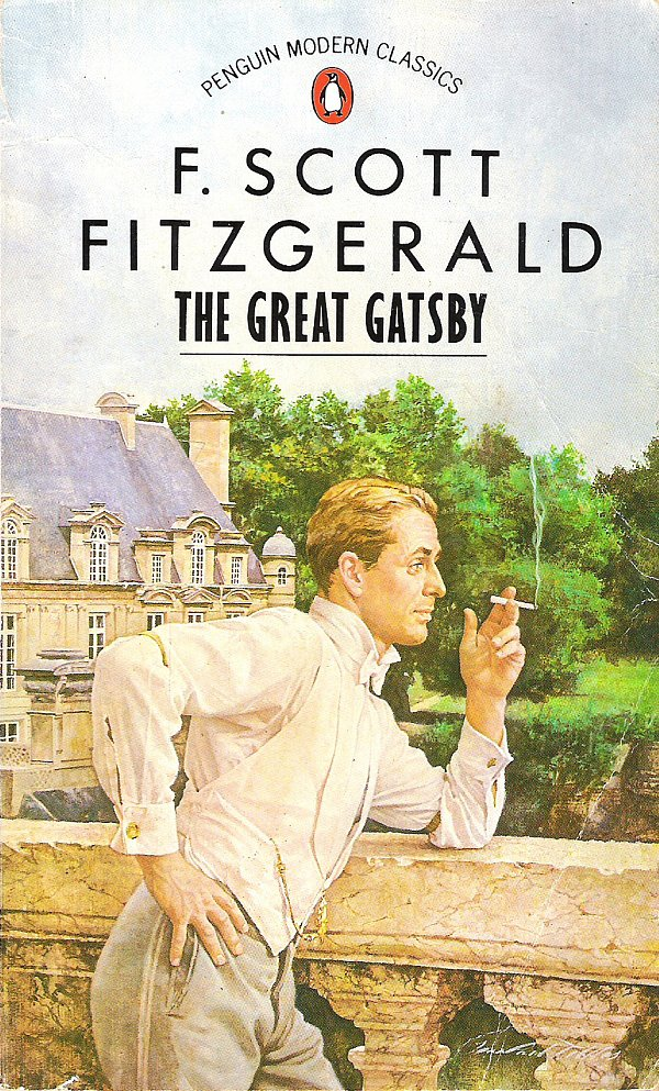 A dapper Gatsby graces the cover of this 1989 book cover.