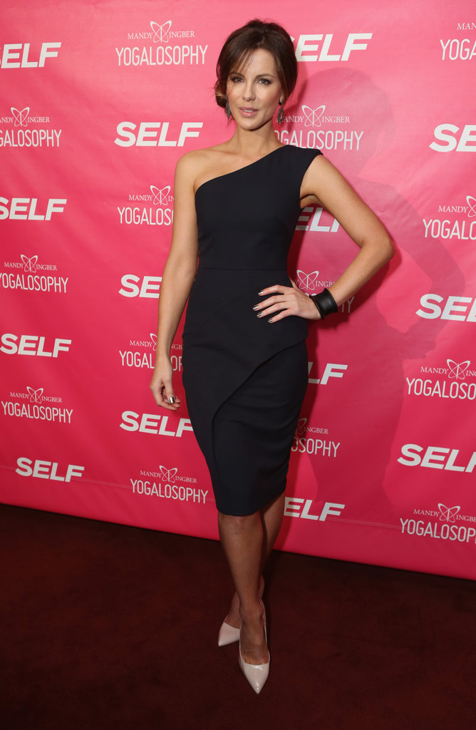 We still can't get over Kate Beckinsale's curve-conscious sheath at Self magazine's celebration in LA.