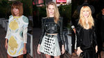 Nicole Richie and Rosie Huntington-Whiteley Look Fierce in Balmain