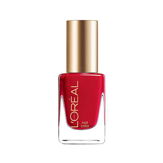 The new L'Oréal Paris Colour Riche Nail in Jolly Lolly ($6, available at drugstores) has a jelly-like finish that's the perfect rouge for baring your toes — and fingers.