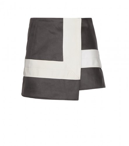 Acne MOA TWO-TONE SKIRT