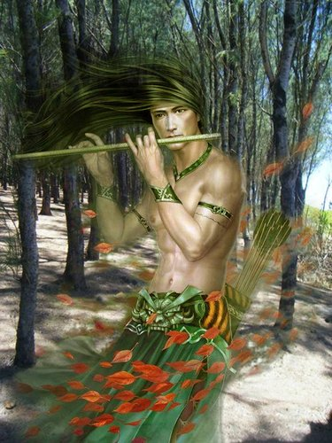 Magical Flute in the Forest (Gris Gris Mauritius)