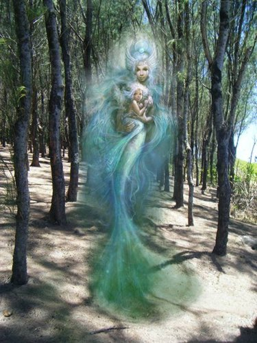 Mermaids in the Forest