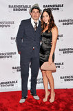 Jason Biggs and his wife, Jenny Mollen, posed at Friday's Barnstable Brown Gala.