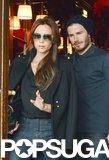 The Beckhams Cap Off a Whirlwind Weekend With an Eiffel Tower Dinner