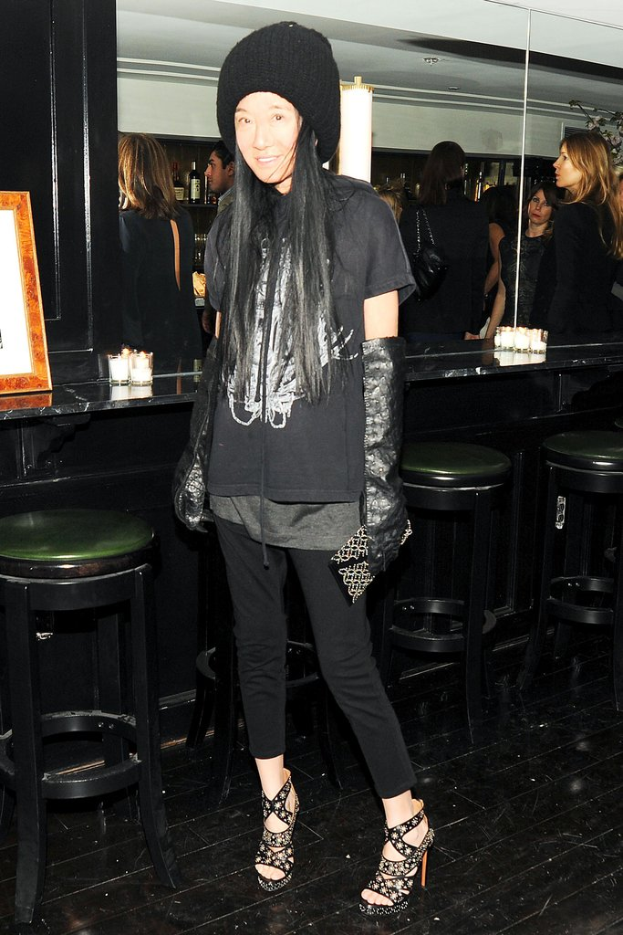 Vera Wang at Net-a-Porter's party at Omar's. Neil Rasmus/BFAnyc.com