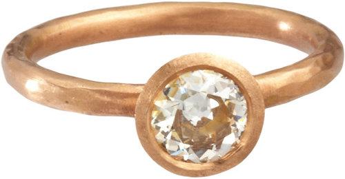 Malcolm Betts Old Cut Diamond Ring