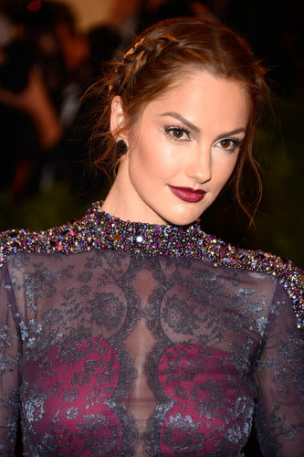 Minka Kelly at the Met Gala 2013.