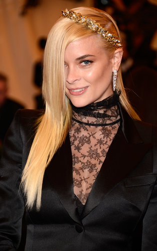 Jaime King at the Met Gala 2013.