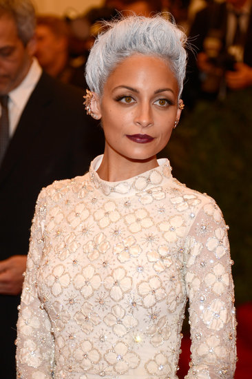 Nicole Richie transformed her hair.