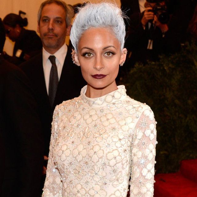 Nicole Richie Wears Topshop to the 2013 Met Gala Ball