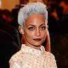 Nicole Richie With White Hair Pictures at 2013 Met Gala