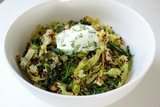Toasted Quinoa and Cabbage