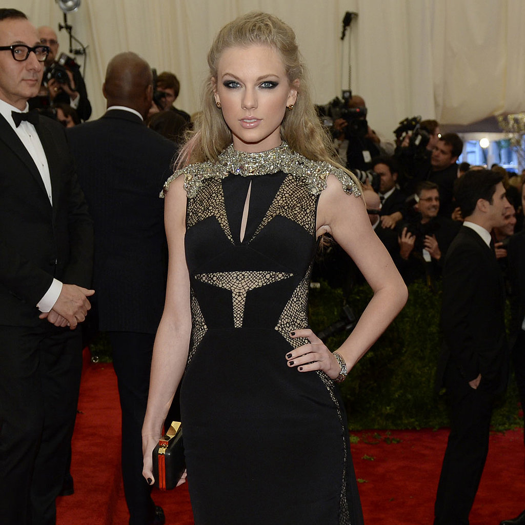 Taylor Swift on Met Gala 2013 Red Carpet