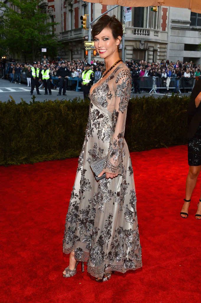 Karlie Kloss at the 2013 Met Gala.