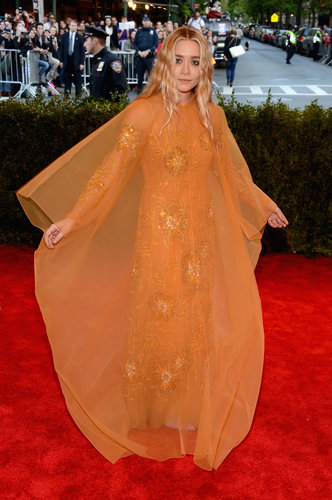 Ashley Olsen at the Met Gala 2013.