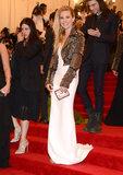 Sienna Miller at the Met Gala 2013.
