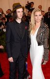 Tom Sturridge and Sienna Miller at the Met Gala 2013.