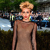 Miley Cyrus on Met Gala 2013 Red Carpet
