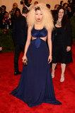 Nicki Minaj at the Met Gala 2013.