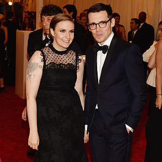 Lena Dunham at the Met Gala 2013