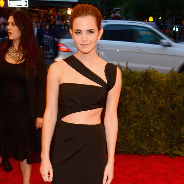 Emma Watson in Cut-Out Prabal Guring at 2013 Met Gala