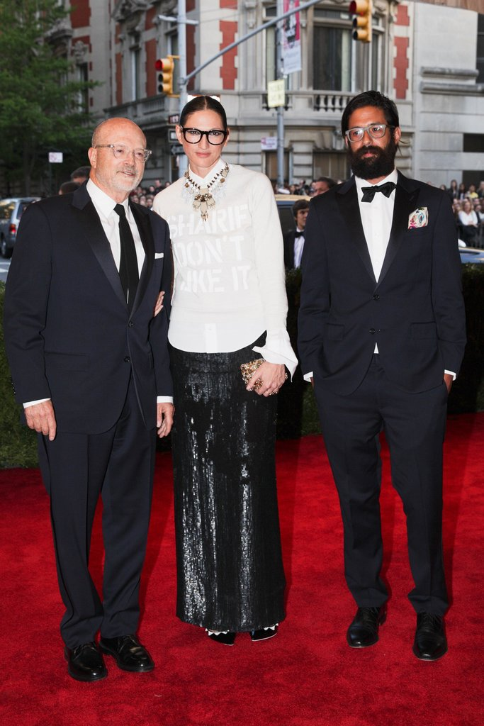 Mickey Drexler, Jenna Lyons, and Greg Chait. Source: Julian Mackler/BFAnyc.com