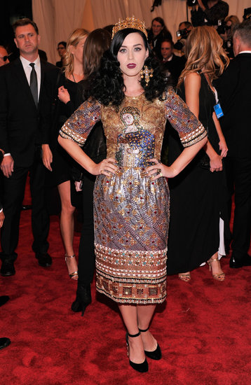 Katy Perry Is Crowned the Punk Queen at the Met Gala