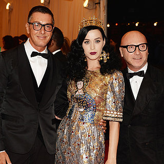 Katy Perry at the Met Gala 2013