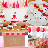 A Modern Hello Kitty Second Birthday Party