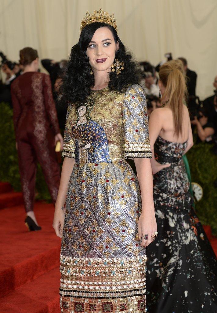 Katy Perry at the Met Gala 2013.