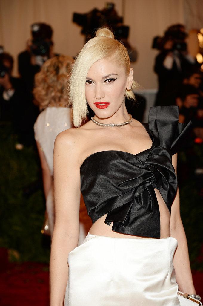 Gwen Stefani at the Met Gala 2013.