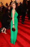 Kate Upton at the Met Gala 2013.