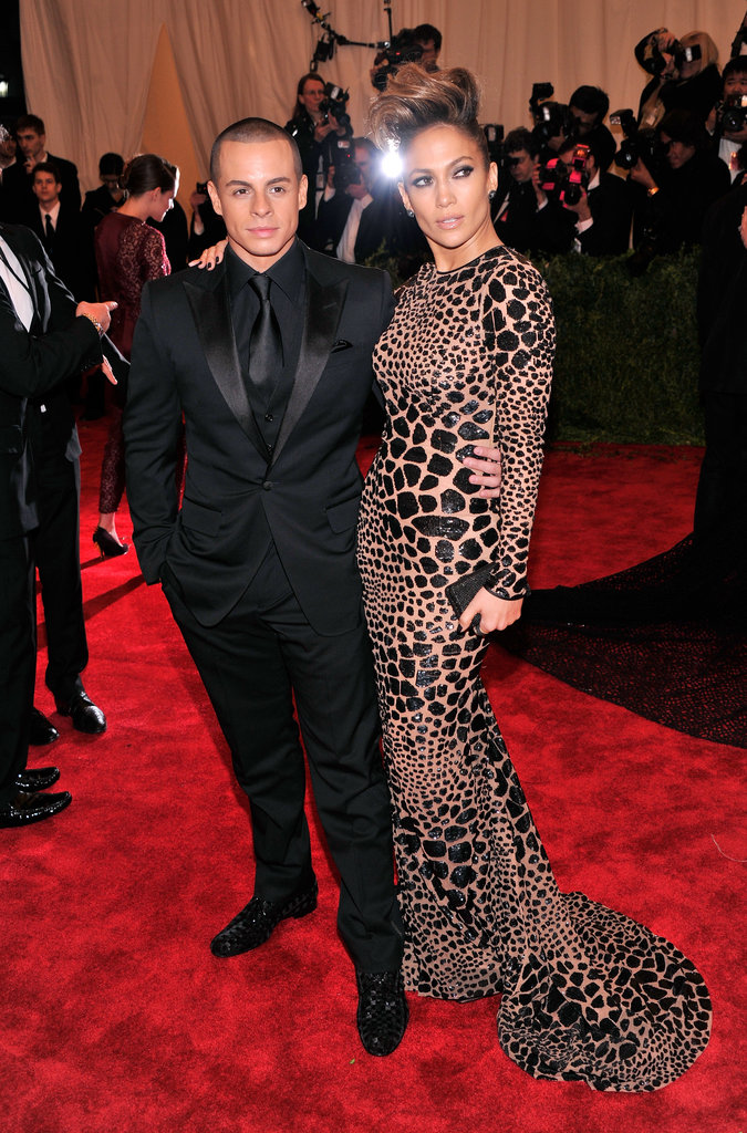 Jennifer Lopez and Casper Smart in 2013
