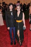 Kelly Osbourne and Matthew Mosshart in 2013