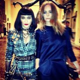 Madonna and Stella McCartney partied together inside the event. Source: Instagram user stellamccartney