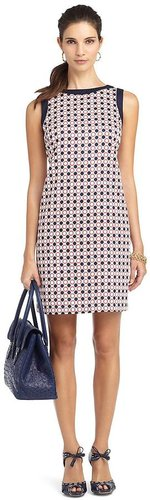 Petite Geometric Print Dress