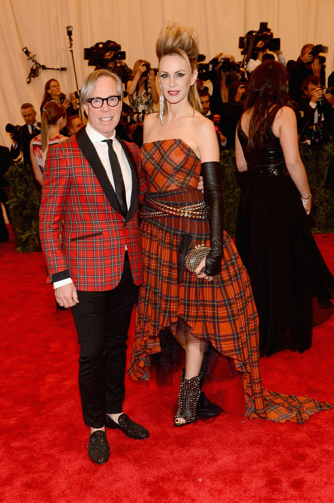 Tommy and Dee Hilfiger at the 2013 Met Gala.
